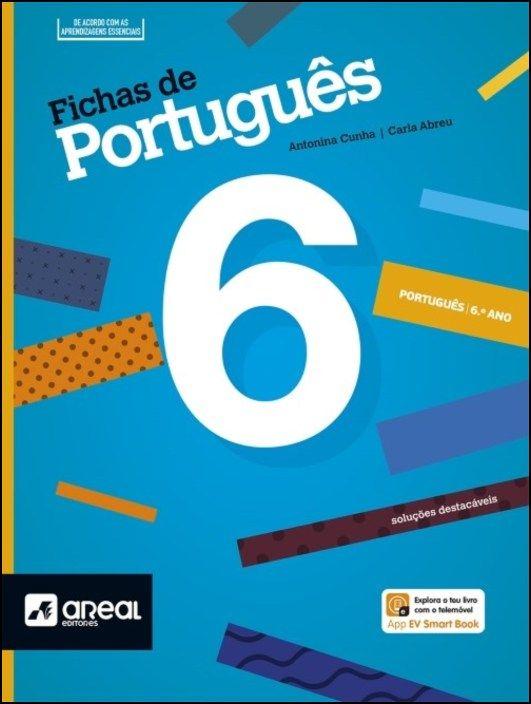 Fichas de Português 6 - 6.º Ano