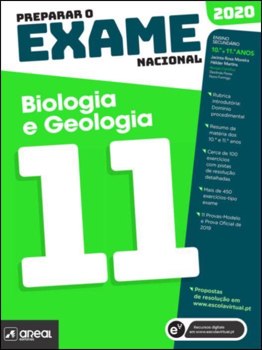 Preparar o Exame Nacional 2020 - Biologia e Geologia 11 - 11º Ano