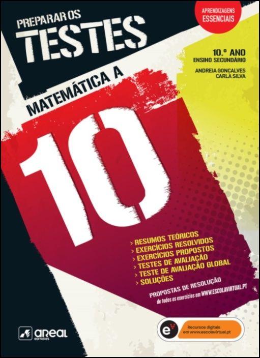 Preparar os Testes - Matemática A - 10.º Ano