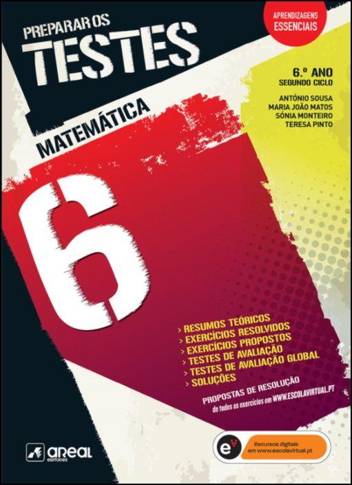 Preparar os Testes - Matemática 6 - 6.º Ano