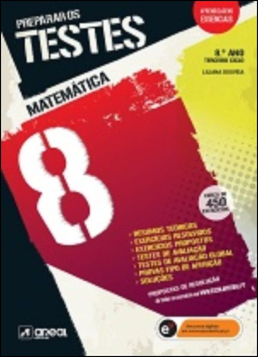 Preparar os Testes - Matemática  8 - 8.º Ano