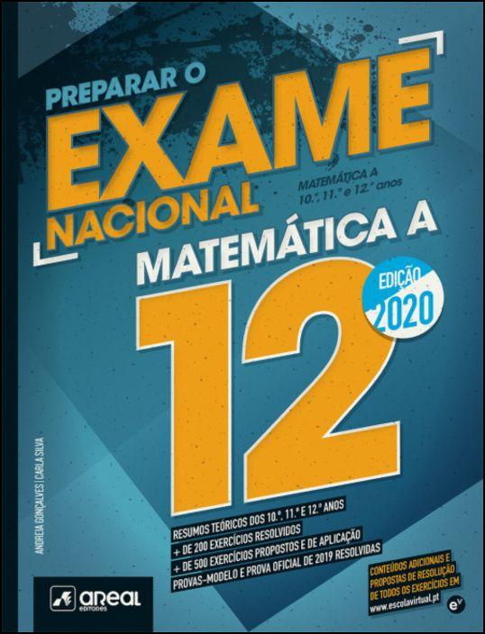 Preparar o Exame Nacional 2020 - Matemática A - 12.º Ano