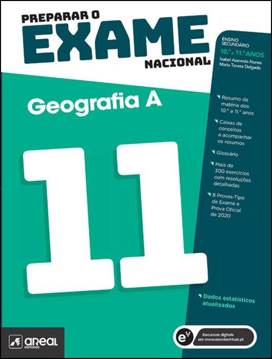 Preparar o Exame Nacional  Geografia A  10.º e 11.º Anos