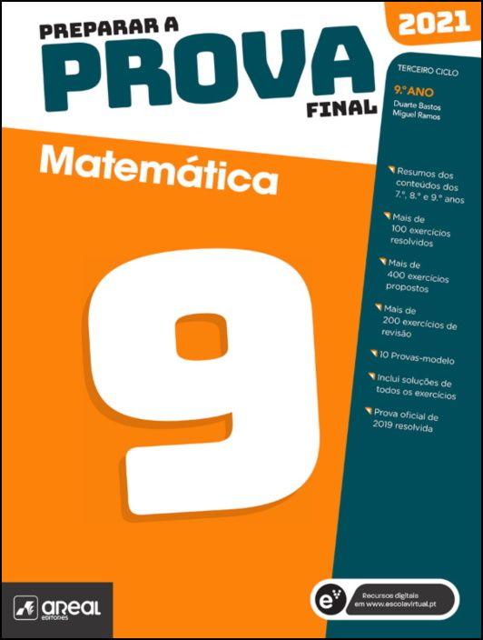 Preparar a Prova Final 2021  Matemática  9.º Ano