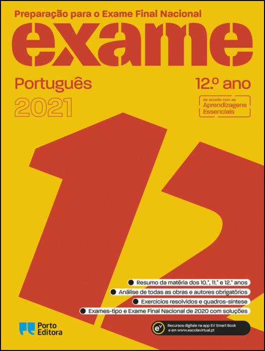 Preparar o Exame Nacional 2021  Português  12.º Ano