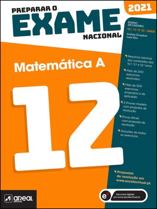 Preparar o Exame Nacional 2021 - Matemática A - 12.º Ano