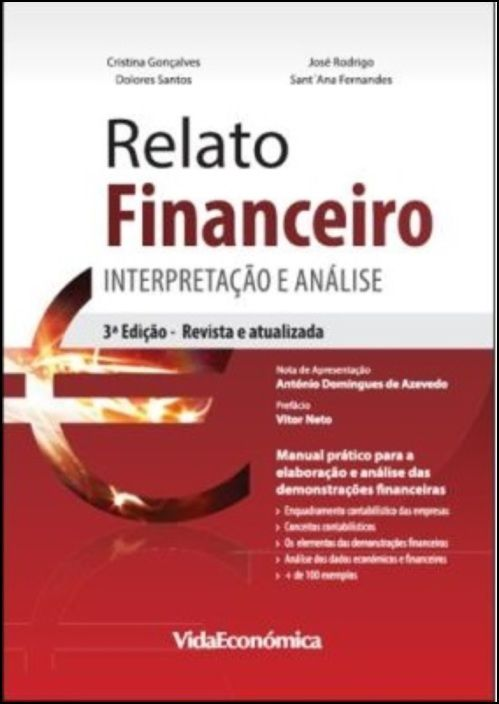 Relato Financeiro - Interpretação e Análise 3ª Edição