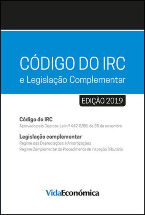 Código do IRC 2019 e Legislação Complementar