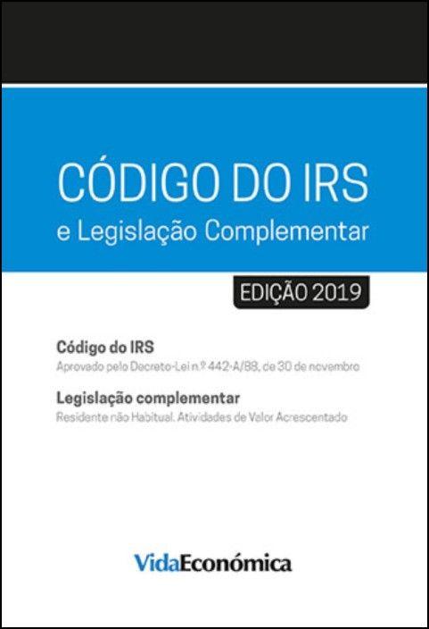 Código do IRS 2019 e Legislação Complementar