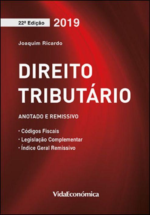 Direito Tributário 2019 - Coletânea de Legislação