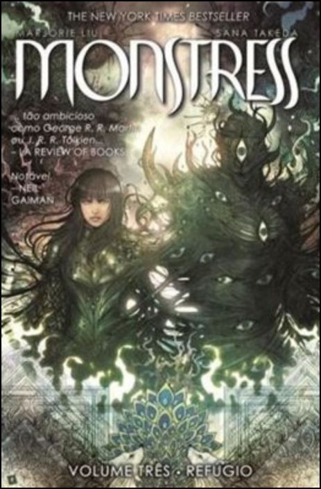 Monstress: refúgio - Volume 3
