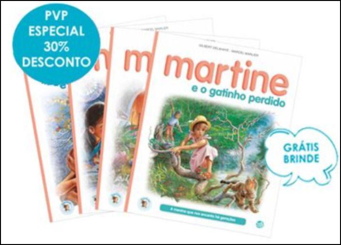 Martine - 4 Livros de Histórias