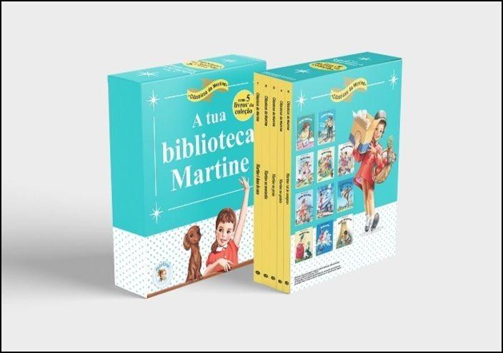 Martine Biblioteca - Livro 1 a 5