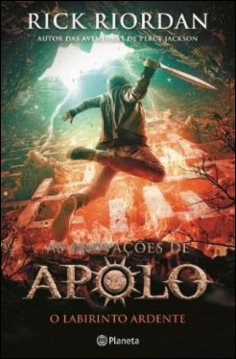 O Labirinto Ardente - As Provações de Apolo