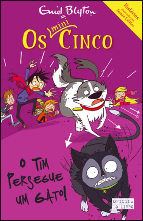 Mini Cinco 8 - O Tim Persegue um Gato