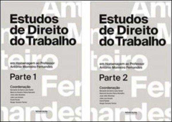 Estudos de Direito do Trabalho - 2 Volumes