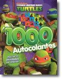 As Tartarugas Ninja- 1000 Autocolantes