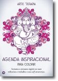 Agenda Inspiracional para Colorir - Elefante