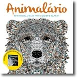 Animalário: Retratos de Animais para Colorir e Relaxar