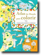 Atlas do Mundo para Colorir