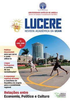 Lucere - Revista Académica da UCAN 2016