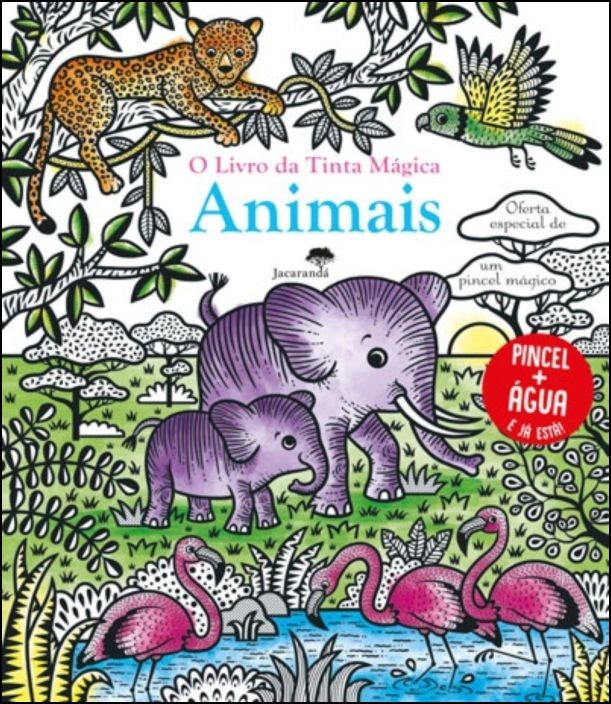 O Livro da Tinta Mágica - Animais
