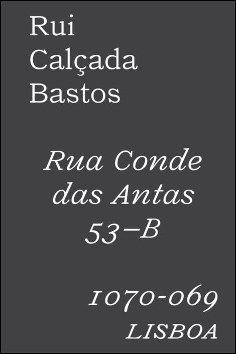 Rua Conde das Antas 53-B 1070-069 Lisboa