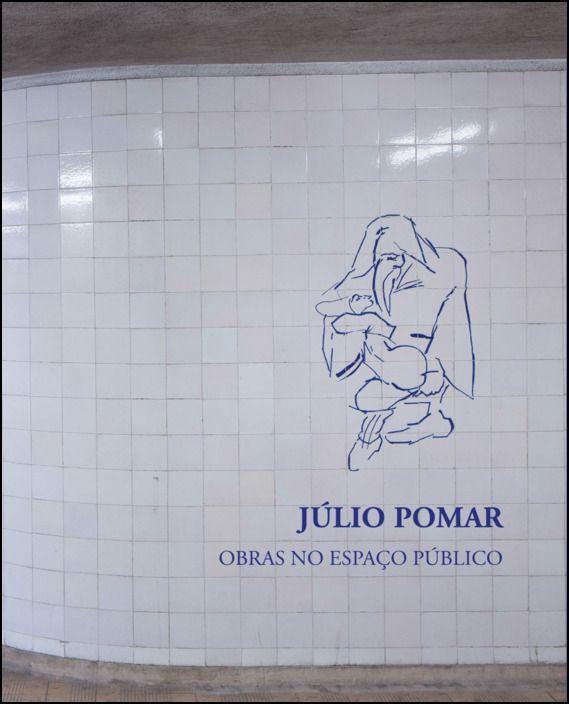 Júlio Pomar - Obras no espaço público