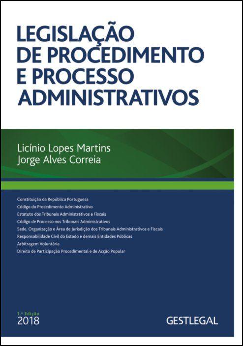 Legislação de Procedimento e de Processo Administrativos