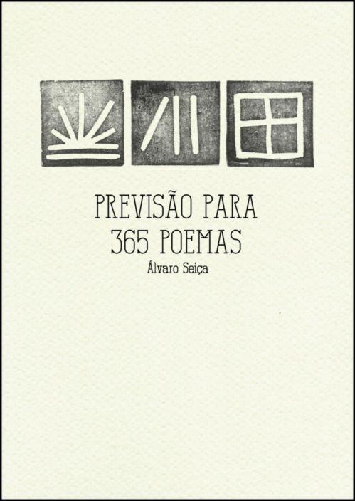 Previsão para 365 Poemas