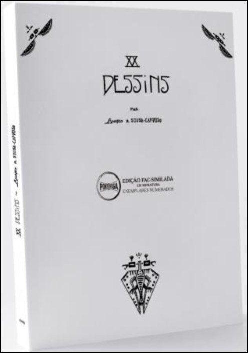 XX Déssins (postais: edição fac-similada em miniatura)